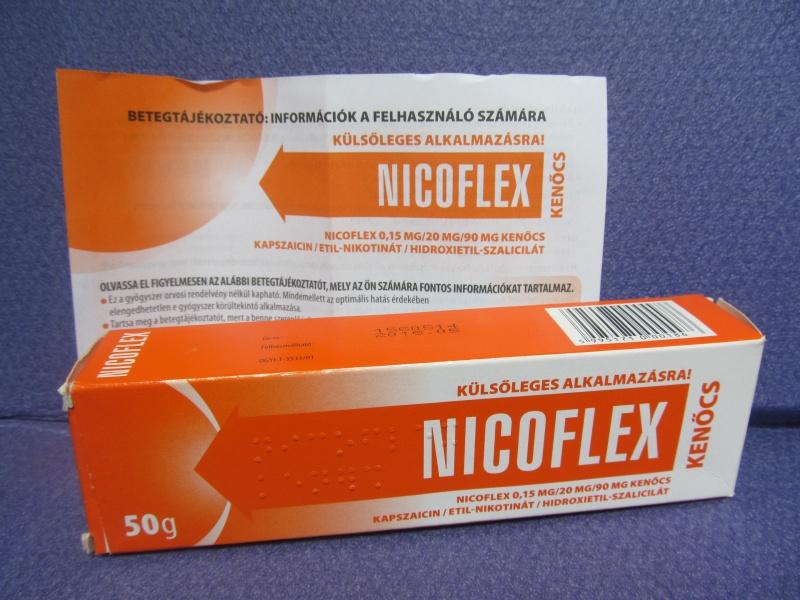 Nicoflex kenőcs